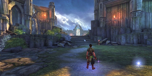Pwyll arrives in Annwfn from the game of Mabinogi.'